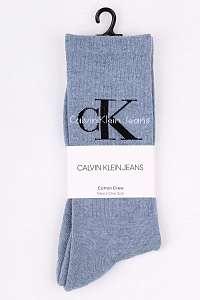 Calvin Klein svetlo modré pánske ponožky Jeans Logo Stonewash  --46
