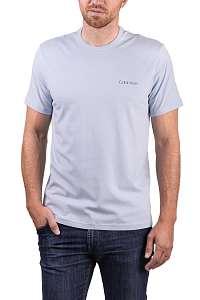 Calvin Klein svetlo modré pánske tričko S/S Crew Neck