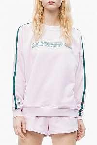 Calvin Klein svetlo ružová mikina L/S Sweatshirt - XL