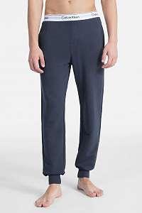 Calvin Klein tmavo sivé pánske tepláky Jogger - XL