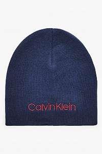 Calvin Klein tmavomodrá čiapka Classic Beanie Navy