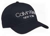 Calvin Klein tmavomodrá šiltovka CK NY BB Cap