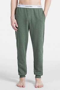 Calvin Klein zelené pánske tepláky Jogger - XL