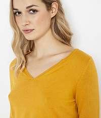 CAMAIEU horčicové dámsky ľahký sveter