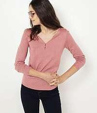 CAMAIEU ružové tričko