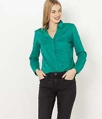 CAMAIEU zelené košeľa