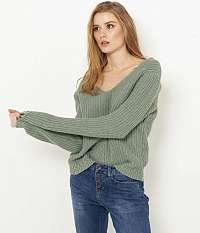 CAMAIEU zelené sveter