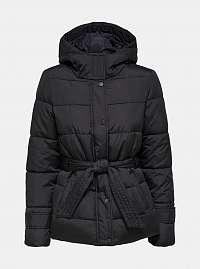 Čierna prešívaná bunda Jacqueline de Yong Sue