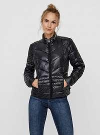 Čierna prešívaná zimná bunda VERO MODA