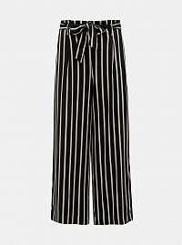 Čierne pruhované nohavice TALLY WEiJL