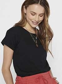 Čierne tričko Jacqueline de Yong Pastel