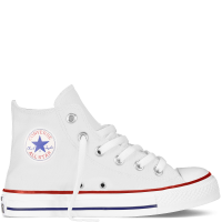 Converse biele dievčenské tenisky Chuck Taylor All Star