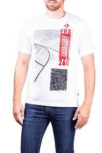 Converse biele pánske tričko ERX SS Tee - XXL
