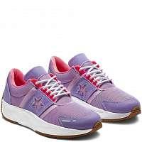Converse fialové tenisky na platforme Run Star -
