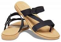 Crocs čierne žabky Tulum Toe Post Sandal W Black