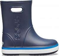 Crocs detské unisex gumáky Crocband Rain Boot Navy/Bright Cobalt -