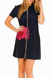 Culito from Spain čierne šaty Florecita