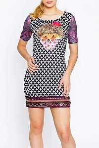 Culito from Spain farebné šaty Mariah Carey - XXL
