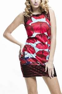 Culito from Spain farebné šaty Paraguas