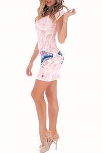 Culito from Spain ružové šaty Ballena  - L