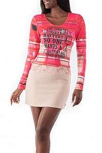 Culito from Spain ružové šaty Vino Tinto