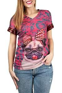 Culito from Spain ružové tričko Frida Buho