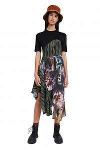 Desigual asymetrické šaty Vest Taipei