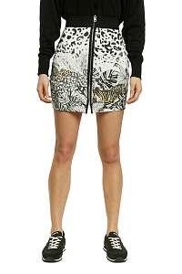 Desigual biele sukňa Fal Touche