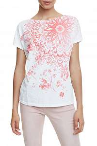 Desigual biele tričko TS Under