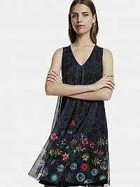 Desigual čierne šaty Carnagy