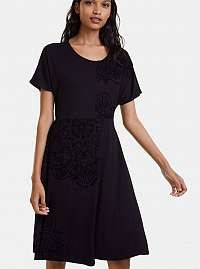 Desigual čierne šaty Thalia