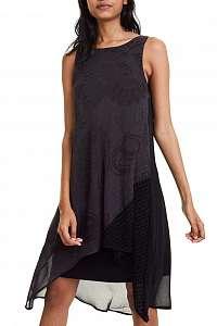 Desigual čierne šaty Vest Keira -