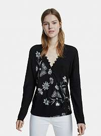 Desigual čierne sveter Dina