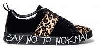 Desigual čierne tenisky Shoes Cosmic Leopard