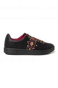 Desigual čierne tenisky Shoes Cosmic Navajo -