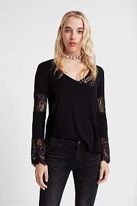 Desigual čierne tričko TS Amelia