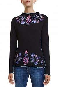 Desigual čierne tričko TS Lauren