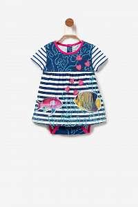 Desigual detské dievčenské šaty/body Vest Falcato