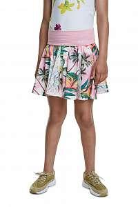 Desigual farebná dievčenská sukňa Fal Bismarck