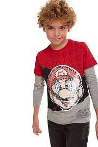 Desigual farebné chlapčenské tričko TS Mario - 13/14