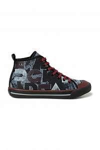 Desigual farebné členkové tenisky Shoes Sneaker High Desigual