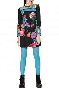 Desigual farebné dievčenské šaty Port Louis