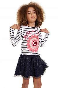 Desigual farebné dievčenské šaty Vest Chilpancingo