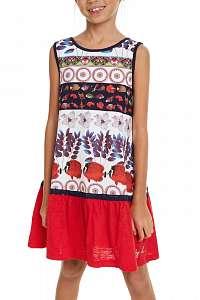 Desigual farebné dievčenské šaty Vest Madison
