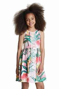 Desigual farebné dievčenské šaty Vest Morelia