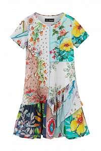 Desigual farebné dievčenské šaty Vest Noemi