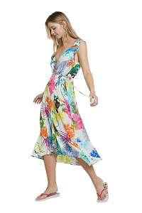 Desigual farebné letné šaty Vest Seychelles