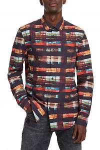 Desigual farebná pánska košeľa Cam Kevin - XXL