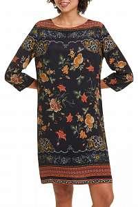 Desigual farebné šaty Vest Praga -