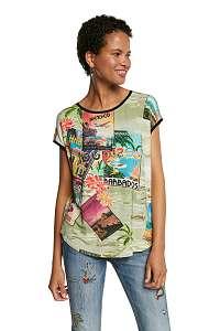 Desigual farebné tričko TS Colombia